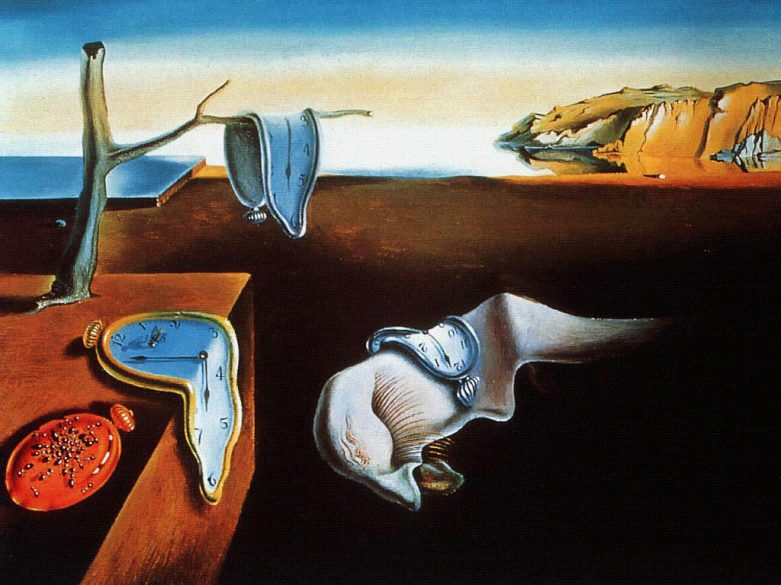 The Persistence of Memory ~Salvador Dali