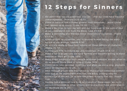 12 Steps Front